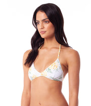 SIENNA REVERSIBLE TRILETTE TOP LEMON