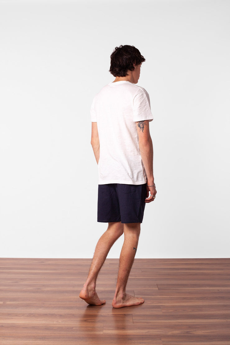 BASIC SLUB T-SHIRT WHITE