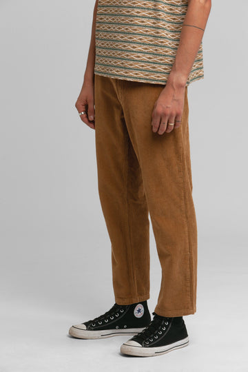 The Cord Fatigue Pant Tobacco