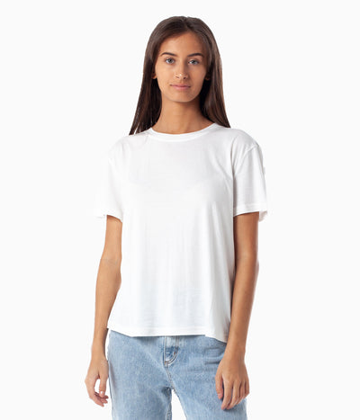 NATURAL BOYFRIEND TEE WHITE