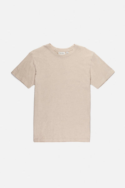 Essential Linen T-Shirt Bone