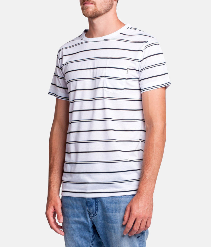 EVERYDAY STRIPE T-SHIRT NAVY