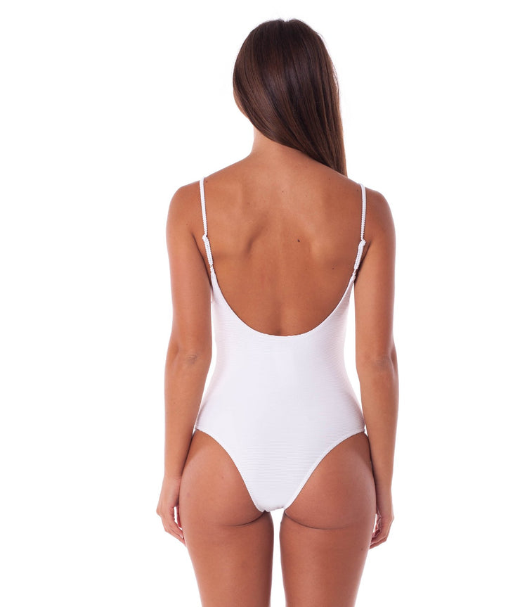 PALM SPRINGS ONE PIECE WHITE