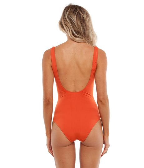 SUNKISSED ONE PIECE TANGELO