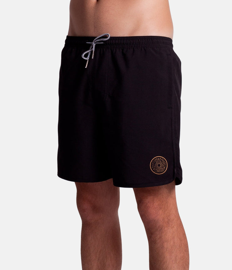 THE BLACK BEACH SHORT BLACK