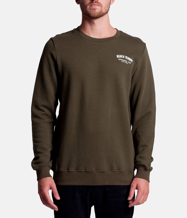 SLOW PULLOVER OLIVE