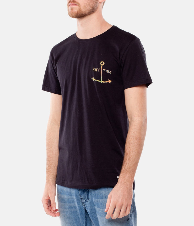 SMOOTH SEAS T-SHIRT BLACK