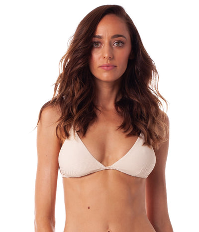 PALM SPRINGS BRALETTE TOP SAND