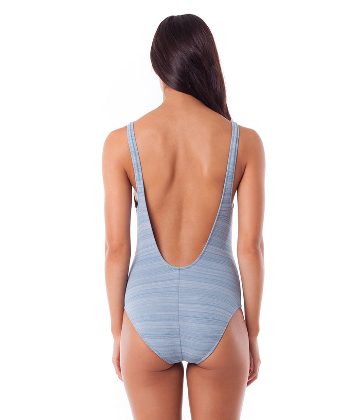 FLASHDANCE ONE PIECE BLUE WASH