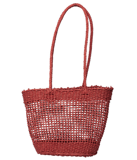 BUNGALOW MARKET BAG BRANDY