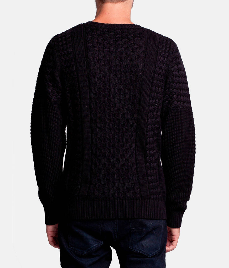 JOURNAL KNIT BLACK