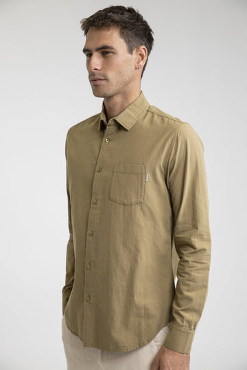 Sunday Ls Shirt Sage