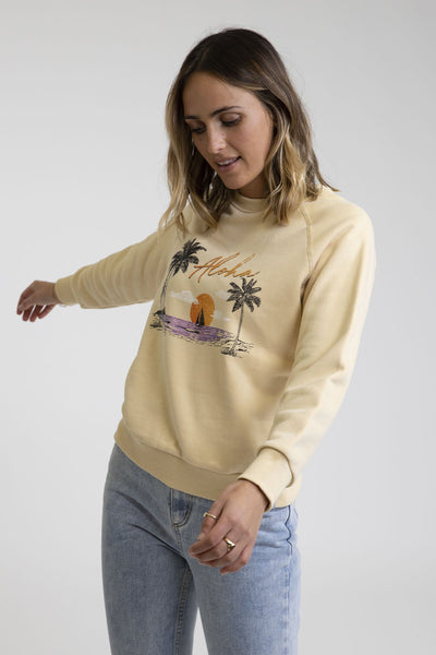 Aloha Pullover Butter