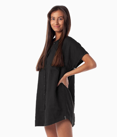 AMALFI DRESS BLACK