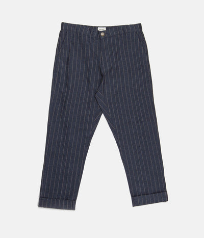 THE BEACH PANT INDIGO STRIPE