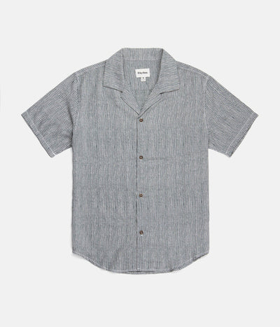 VACATION STRIPE SS SHIRT INDIGO