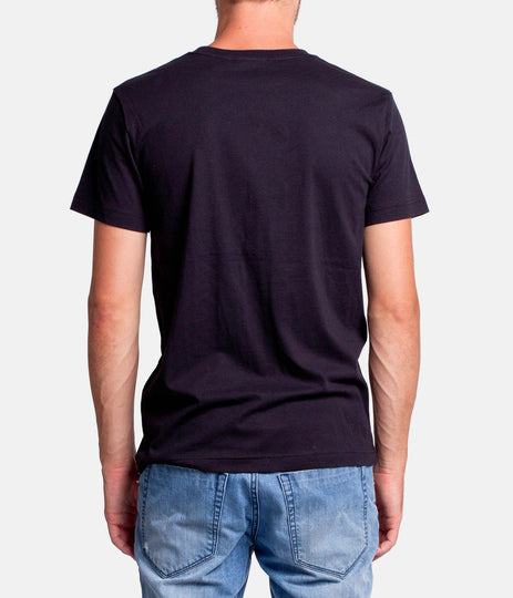 OCEAN ST T-SHIRT BLACK