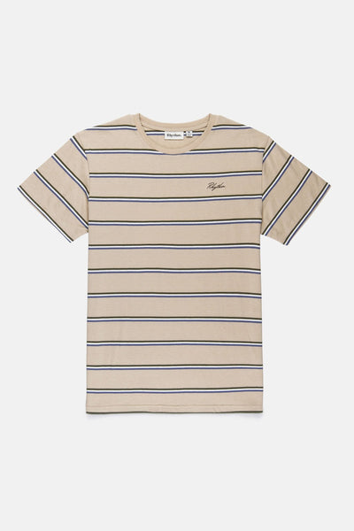 EVERYDAY STRIPE T SHIRT SAND