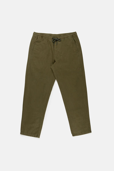 THE SUNDAY PANT OLIVE TWILL