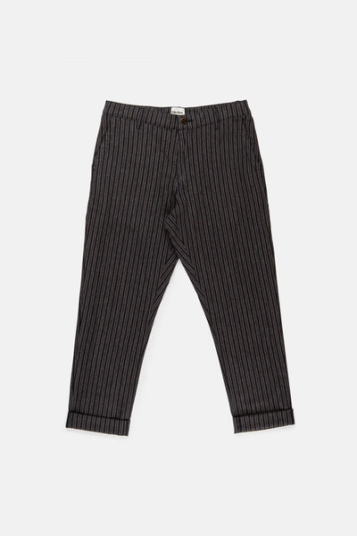 THE BEACH PANT NAVY STRIPE