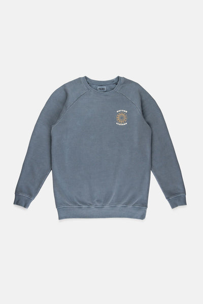WASHED OUT PULLOVER INDIGO