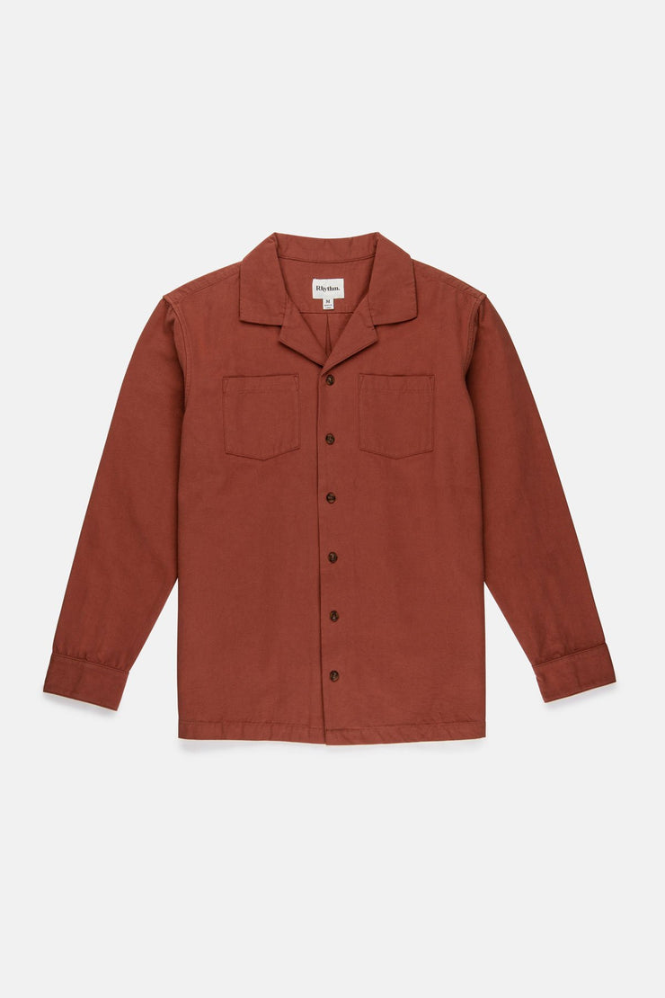 MILITARY LS SHIRT CLAY