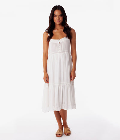 STELLA DRESS WHITE