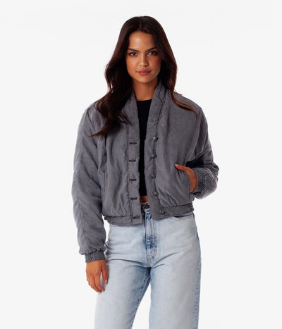 PALERMO JACKET CHARCOAL