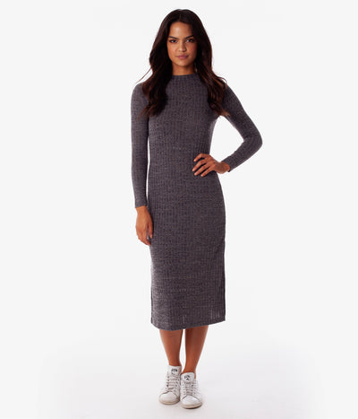 OXFORD DRESS CHARCOAL