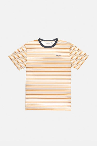Everyday Stripe T-Shirt Tobacco