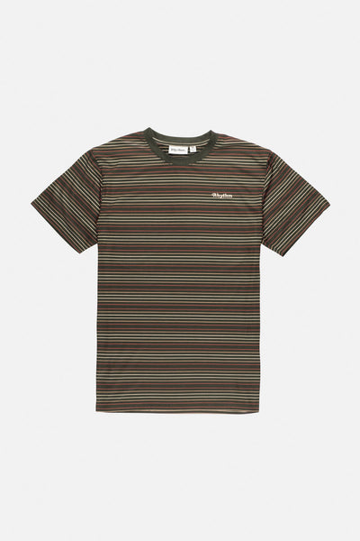 Everyday Stripe T-Shirt Olive