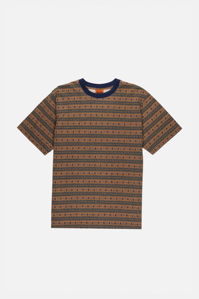 Tribe Stripe T-Shirt Navy