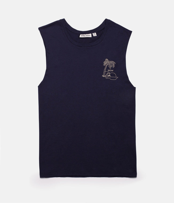 SUNSET TANK NAVY