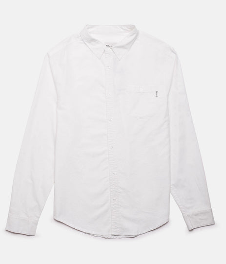 EVERYDAY OXFORD LS SHIRT WHITE