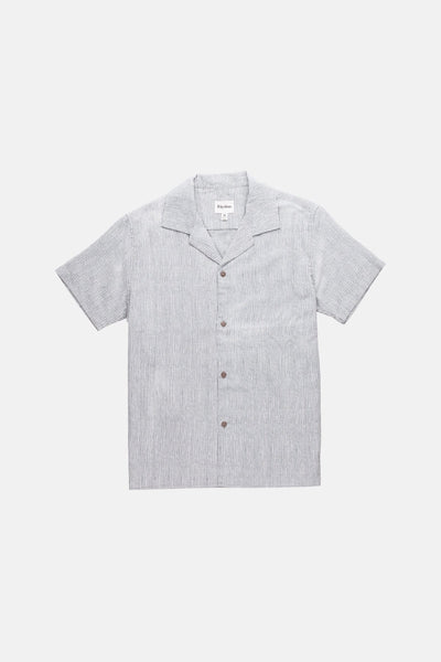 VACATION STRIPE SS SHIRT TEAL