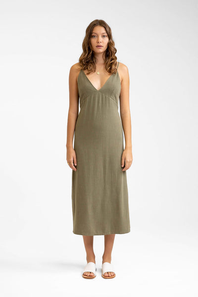 Portofino Dress Khaki