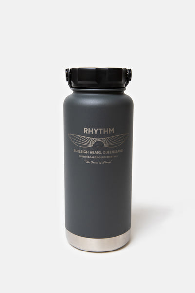 Project PARGO x Rhythm - 950ml Insulated Bottle BBQ Charcoal