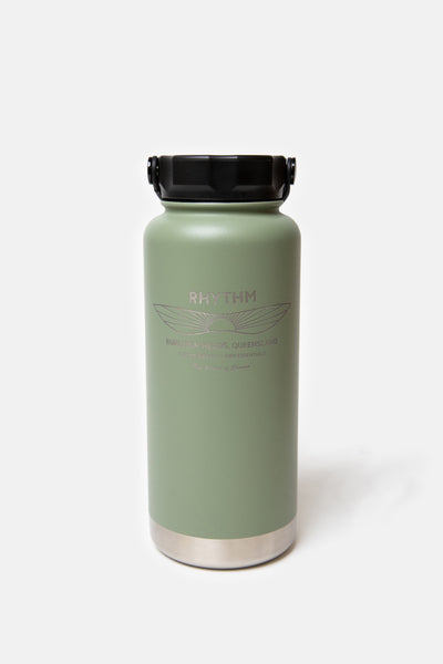 Project PARGO x Rhythm - 950ml Insulated Bottle Eucalypt Green