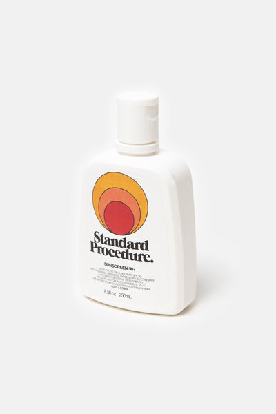 Standard Procedure 250ml Fliptop Sunscreen