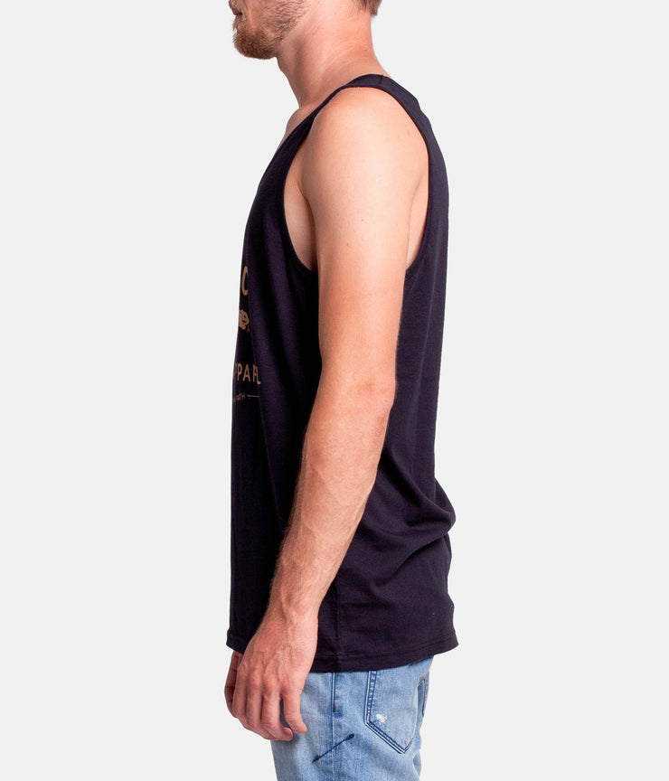 SUPPLY SINGLET BLACK
