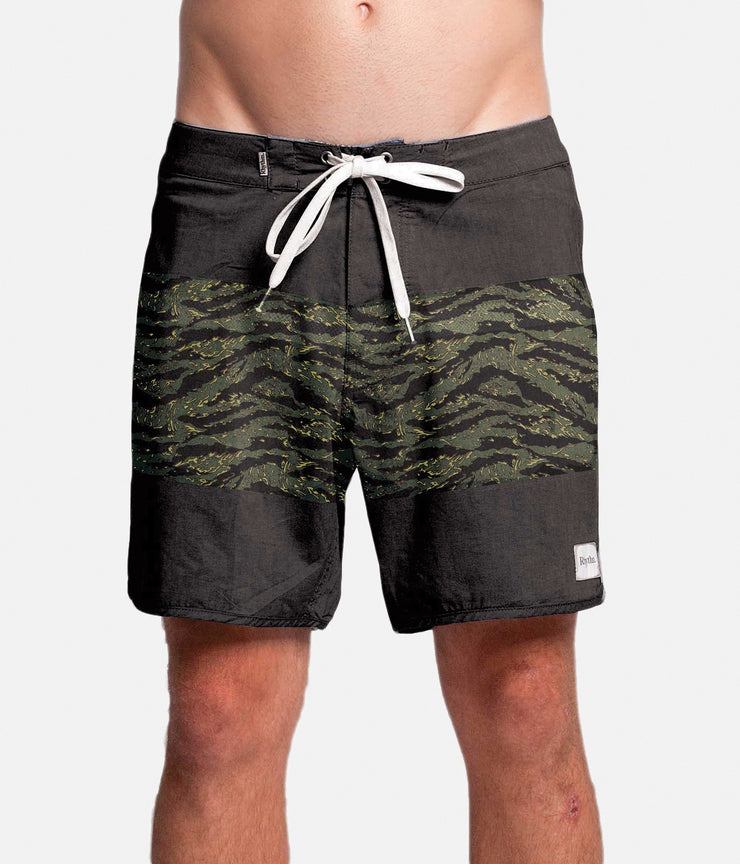 TIGERSTRIPE TRUNK BLACK