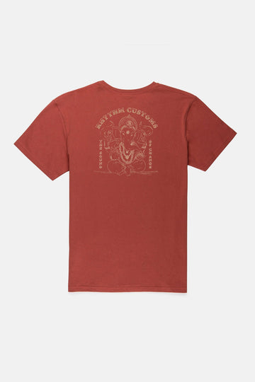 GANESHA T SHIRT BERRY