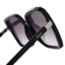 016 black and grey gradient polarized lens side