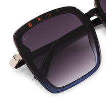 016 tortoise blue combo and grey gradient polarized lens detail