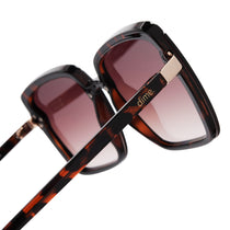 016 tortoise and brown gradient polarized lens side