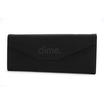 black triangle case with logo folded