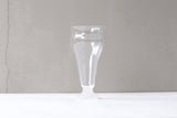hakeme beer glass white