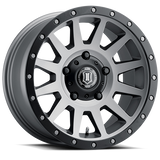 ICON ALLOYS COMPRESSION TITANIUM ARO 17""