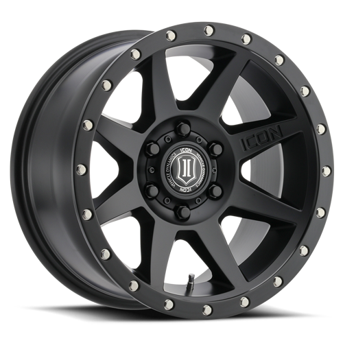 ICON ALLOYS REBOUND SAT BLACK ARO 18
