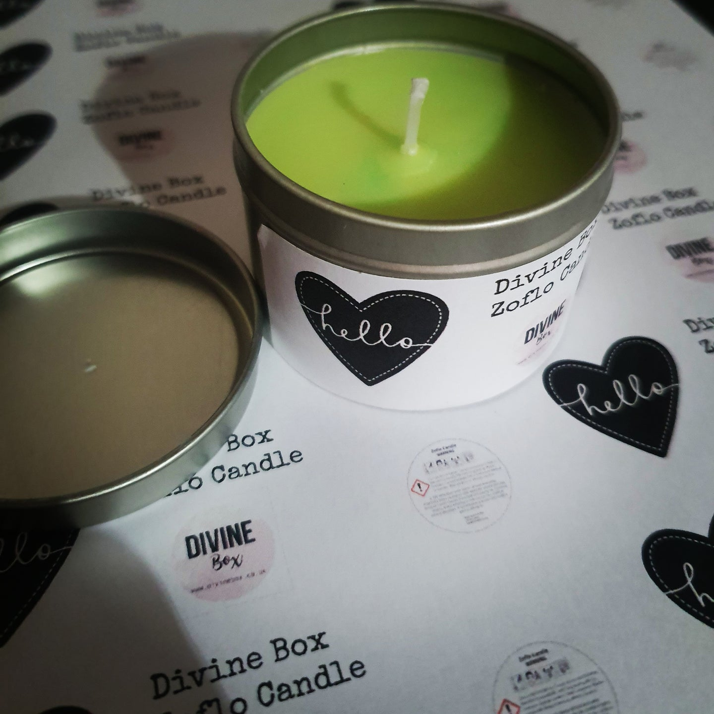 Divine Box Soy Wax Candle